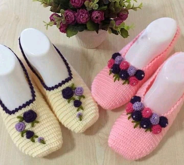 Balerinas tejidas a crochet
